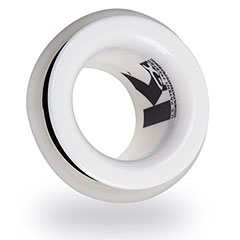 "KickPort 2"" White Bassdrum Port « Drumhead accessories"
