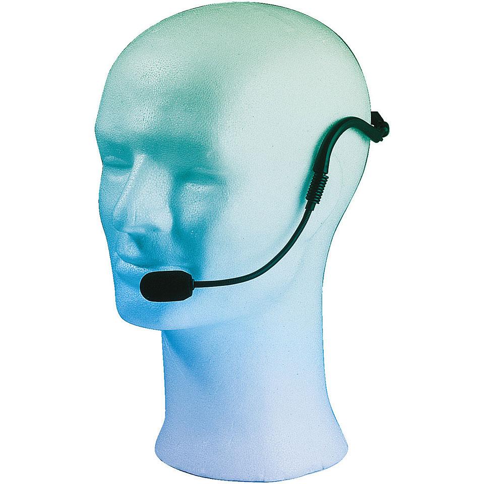 Monacor International Kopfbügelmikrofone mit Back-Elektretkapsel HSE-120 !!!