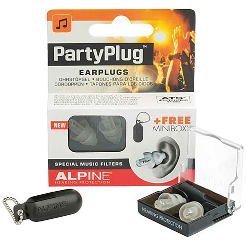 Gehörschutz Alpine PartyPlug Earplugs transparent