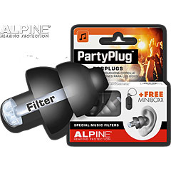 Alpine PartyPlug Earplugs black « Protection auditive
