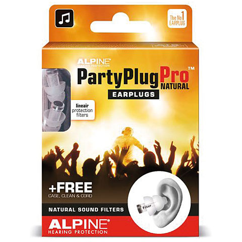 Alpine PartyPlugPro Earplugs natural