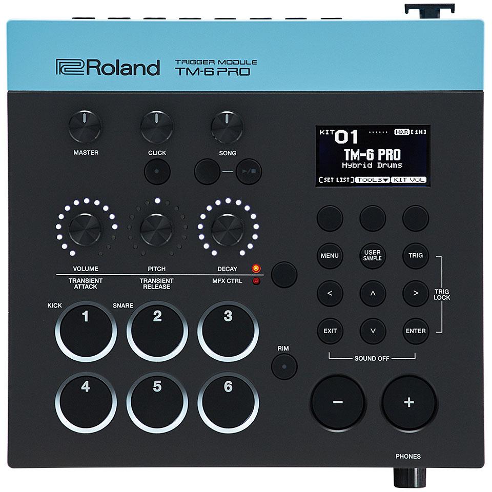 Edrummodule - Roland TM 6 Pro Trigger Modul E Drum Modul - Onlineshop Musik Produktiv