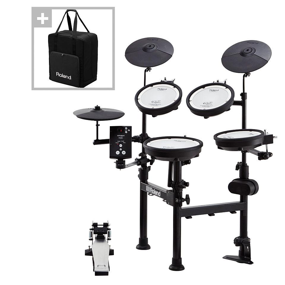 roland td 1kpx2 compact v drums with carrying bag batterie lectronique. Black Bedroom Furniture Sets. Home Design Ideas