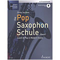 Manuel pédagogique Schott Die Pop Saxophon Schule 1 für Altsax