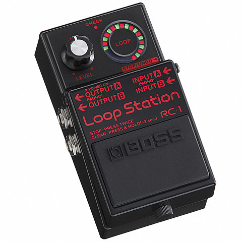 Boss RC-1 BK Loop Station