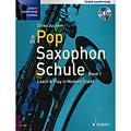 Instructional Book Schott Die Pop Saxophon Schule 1 für Tenorsax