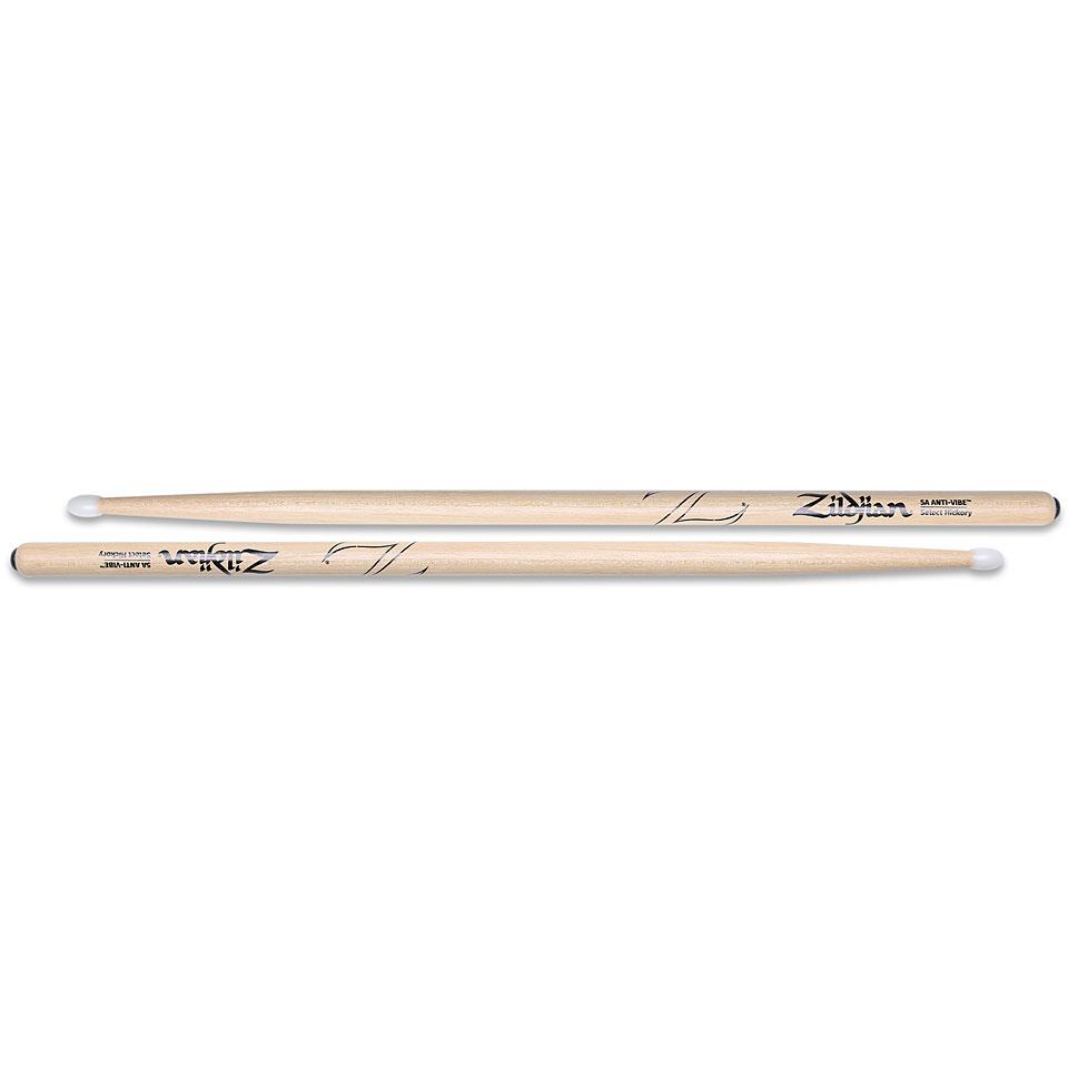 Wood Tip Anti-Vibe 5B Sticks Zildjian