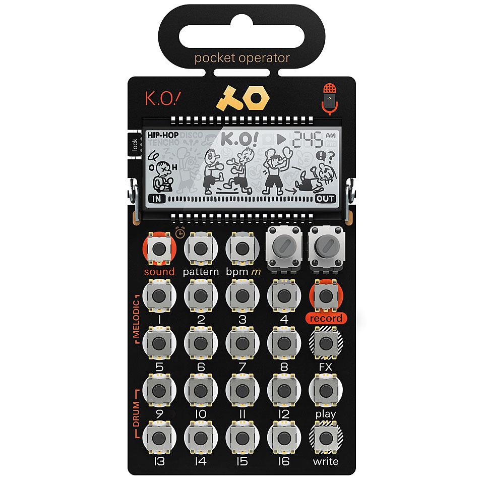 Synthesizer - Teenage Engineering PO 33 K.O! Synthesizer - Onlineshop Musik Produktiv