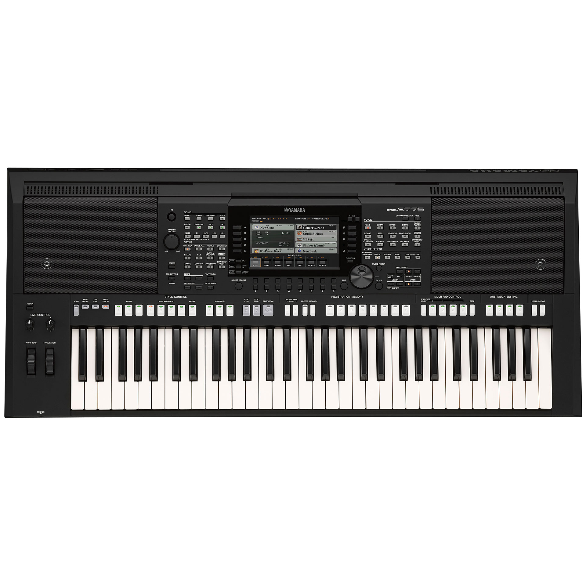 yamaha psr s775 keyboard. Black Bedroom Furniture Sets. Home Design Ideas