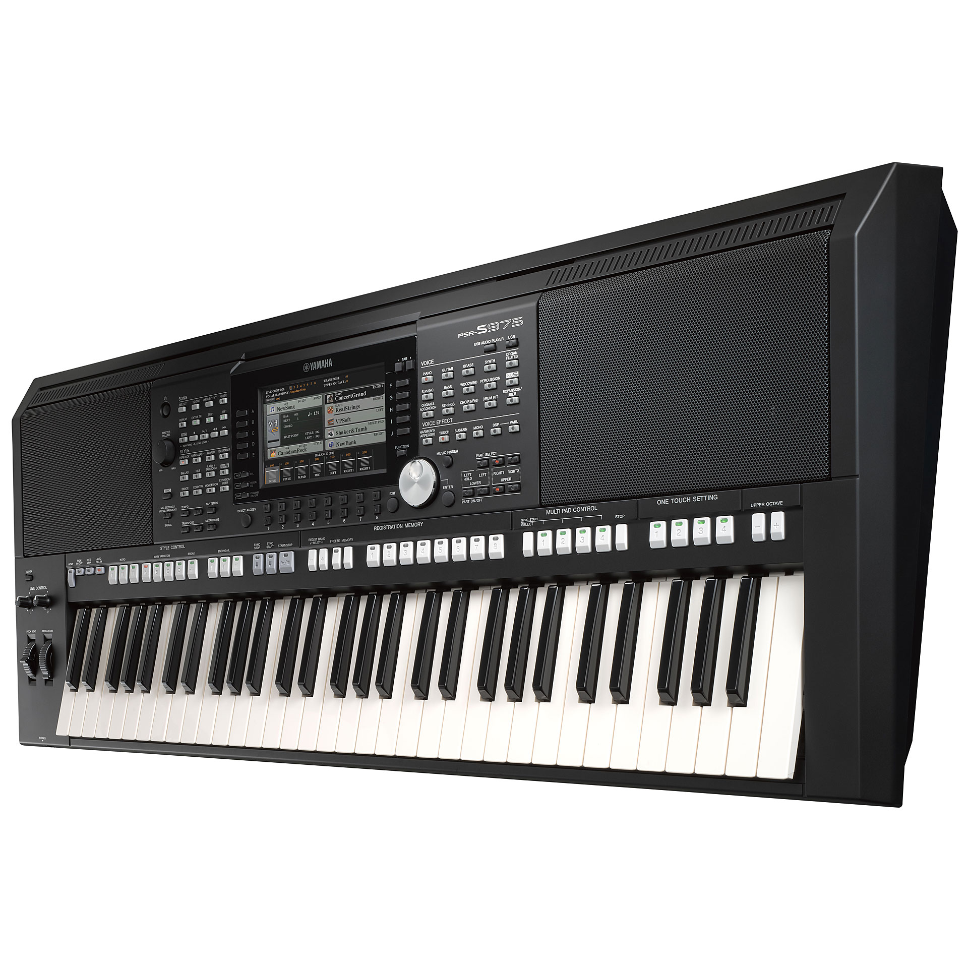 yamaha psr s975 keyboard. Black Bedroom Furniture Sets. Home Design Ideas