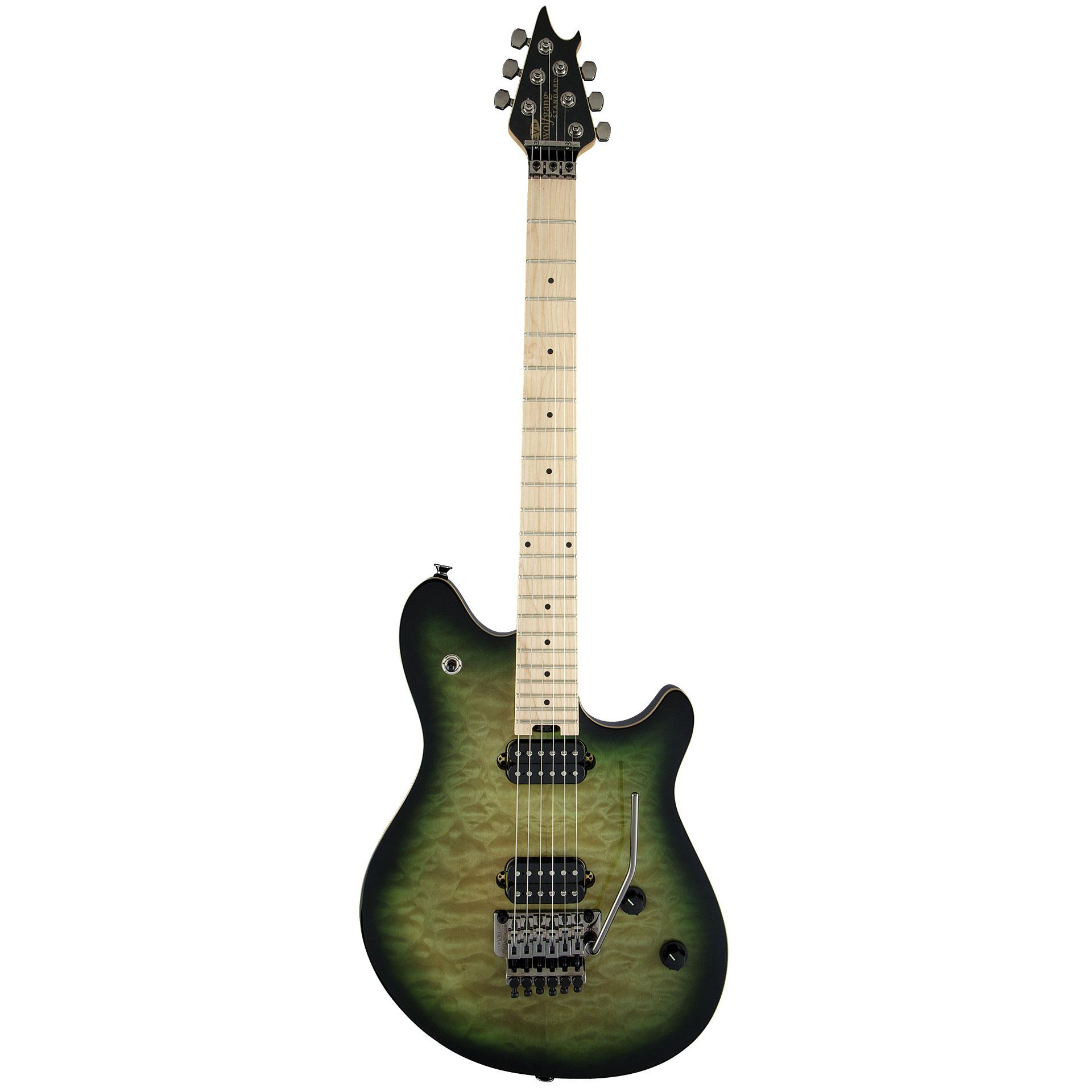 evh wolfgang standard qm zb electric guitar. Black Bedroom Furniture Sets. Home Design Ideas