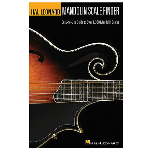 Hal Leonard Mandoline Scale Finder