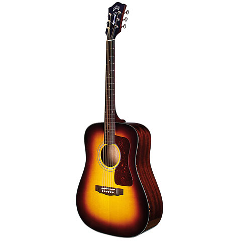 Westerngitarre Guild D-40 Traditional Antique Burst