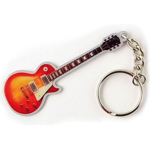 Schlüsselanhänger Rockbites Les Paul sunburst