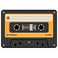 Tapis de souris Rockbites Mousepad Tape, Orange