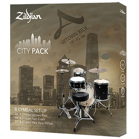 Becken-Set Zildjian A City Pack