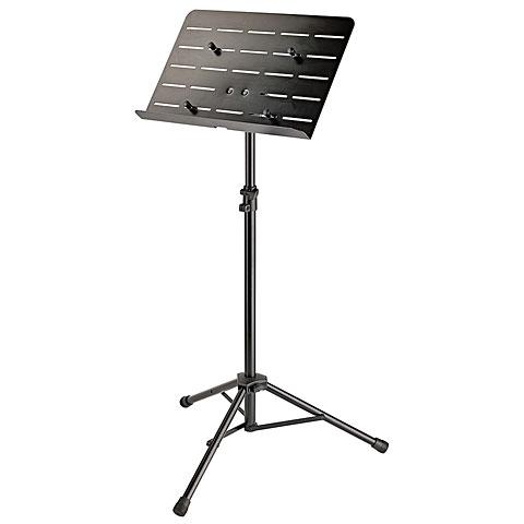 Atril K&M 11965-55 Orchestra Music Stand mit Tablettholder