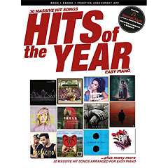 Music Sales Hits of the Year 2017 - Easy Piano « Libro di spartiti