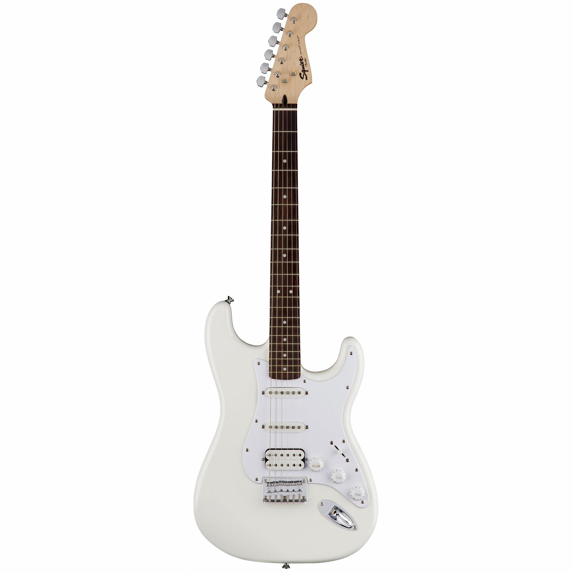 squier bullet strat ht hss awt electric guitar