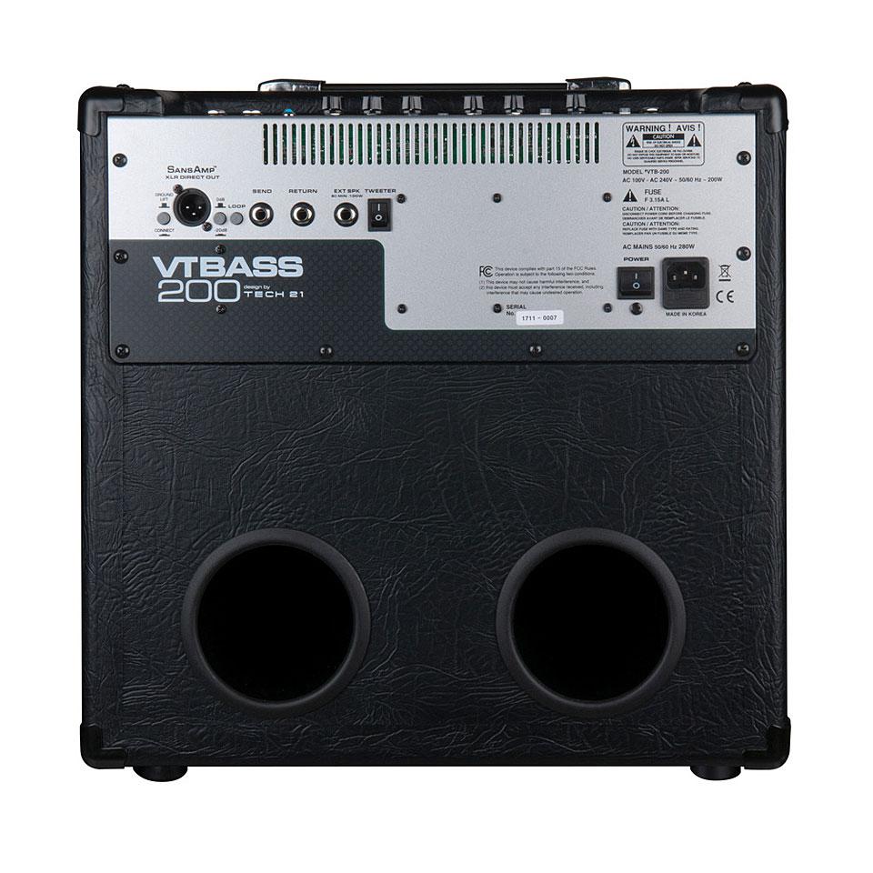 Tech 21 VTBass 200 « Bass Amp