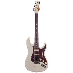 Haar Traditional S aged Olympic White, RW « Electric Guitar