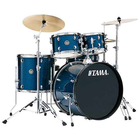 "Batterie acoustique Tama Rhythm Mate 22"" Hairline Blue"