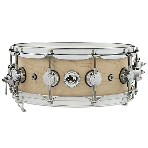 "Caja DW Super Sonic 14"" x 5,5"" Natural Satin Oil Solid Snare Drum"