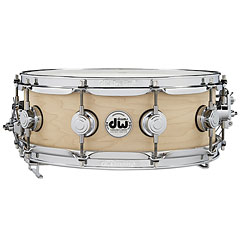 "DW True Sonic 14"" x 5"" Natural Satin Oil Snare Drum « Snare"