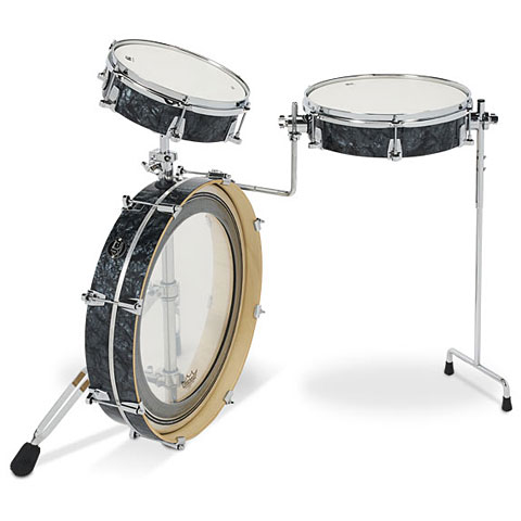 "Batterie acoustique DW Performance 20"" Black Diamond Low Pro Kit"
