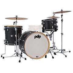 pdp Concept Classic 22 Ebony Drumset with Wood Hoops « Batterie acoustique
