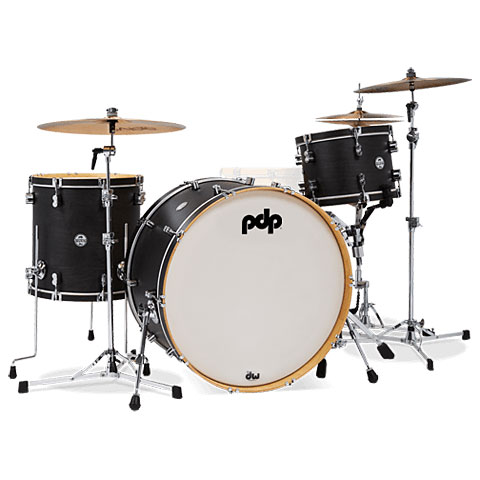 """Batería pdp Concept Classic 26"""" Ebony Drumset with Wood Hoops"""