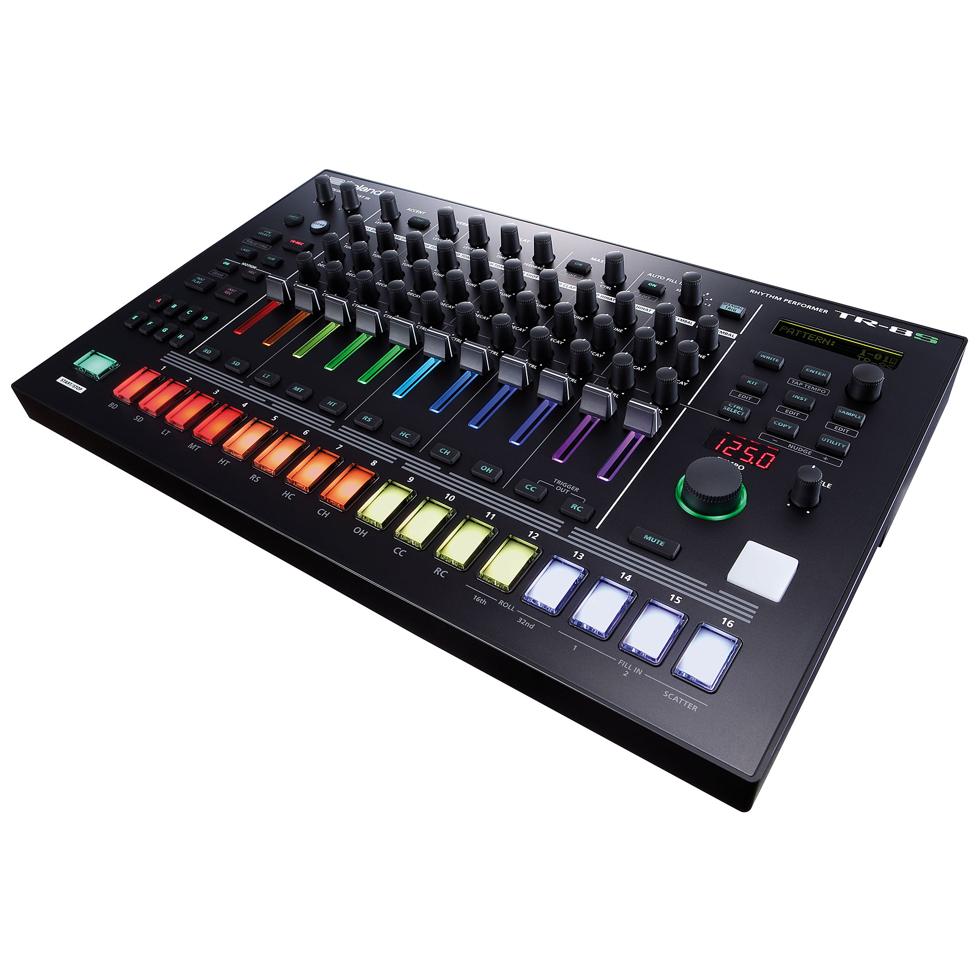 roland aira tr 8s synthesizer musik produktiv