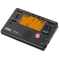 Korg TM-60 black Tuner/Metronome « Accordeur