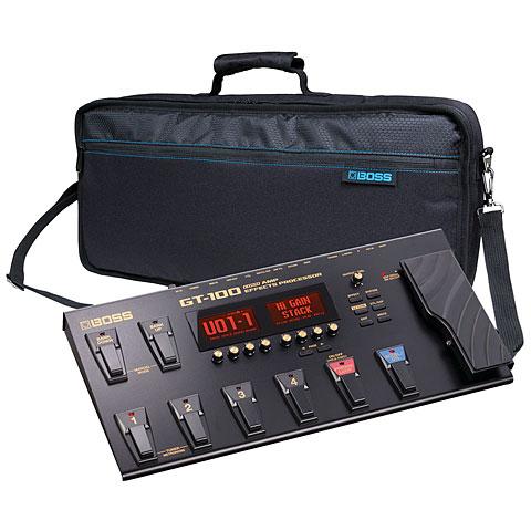 Multieffektgerät E-Gitarre Boss GT-100 Bag Bundle
