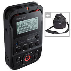 Roland R-07 BK Bag Bundle « Digital Audio Recorder