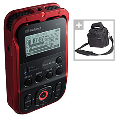 Roland R-07 RD Bag Bundle « Digital Recorder