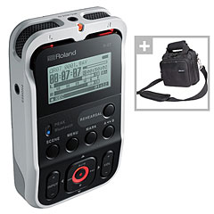Roland R-07 WH Bag Bundle « Digital Recorder