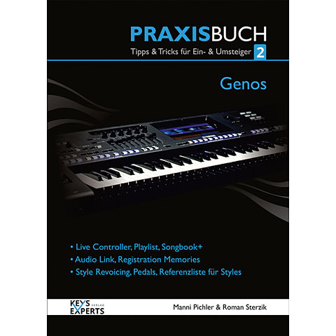 Libros técnicos Keys-Experts Genos Praxisbuch2