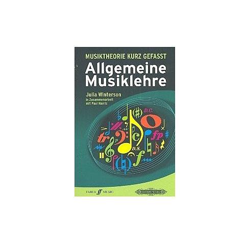 Musiktheorie Faber Music Musiktheorie Kurz Gefasst Allgemeine Musiklehre