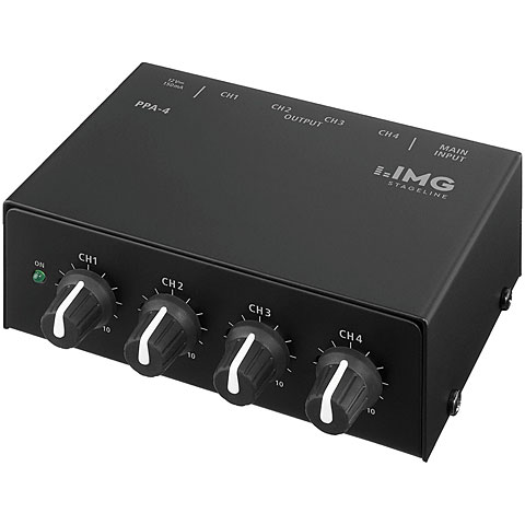 Amplificador auricular IMG Stageline PPA-4