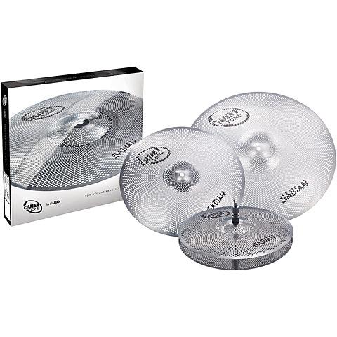 Becken-Set Sabian Sabian Quiet Tone 14/16/20 Low Volume Practice Cymbal Set