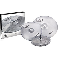 Sabian Sabian Quiet Tone 14/16/20 Low Volume Practice Cymbal Set « Becken-Set