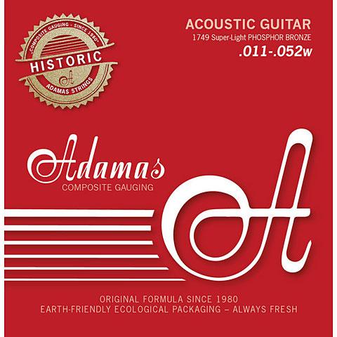 Saiten Westerngitarre Adamas 1749