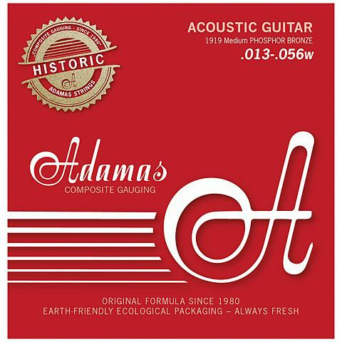Saiten Westerngitarre Adamas 1919 Medium Historic Reissue