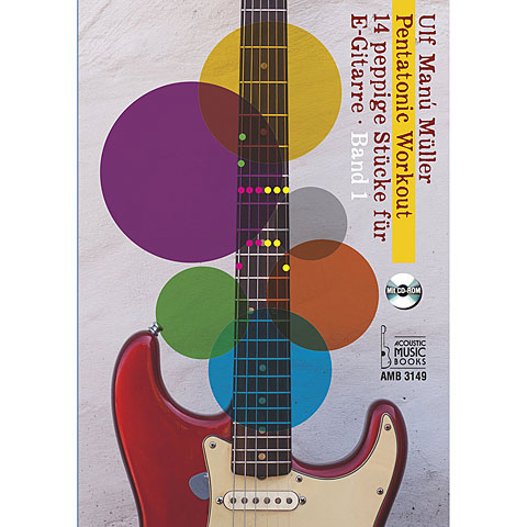 Lehrbuch Acoustic Music Books Pentatonic Workout Band 1