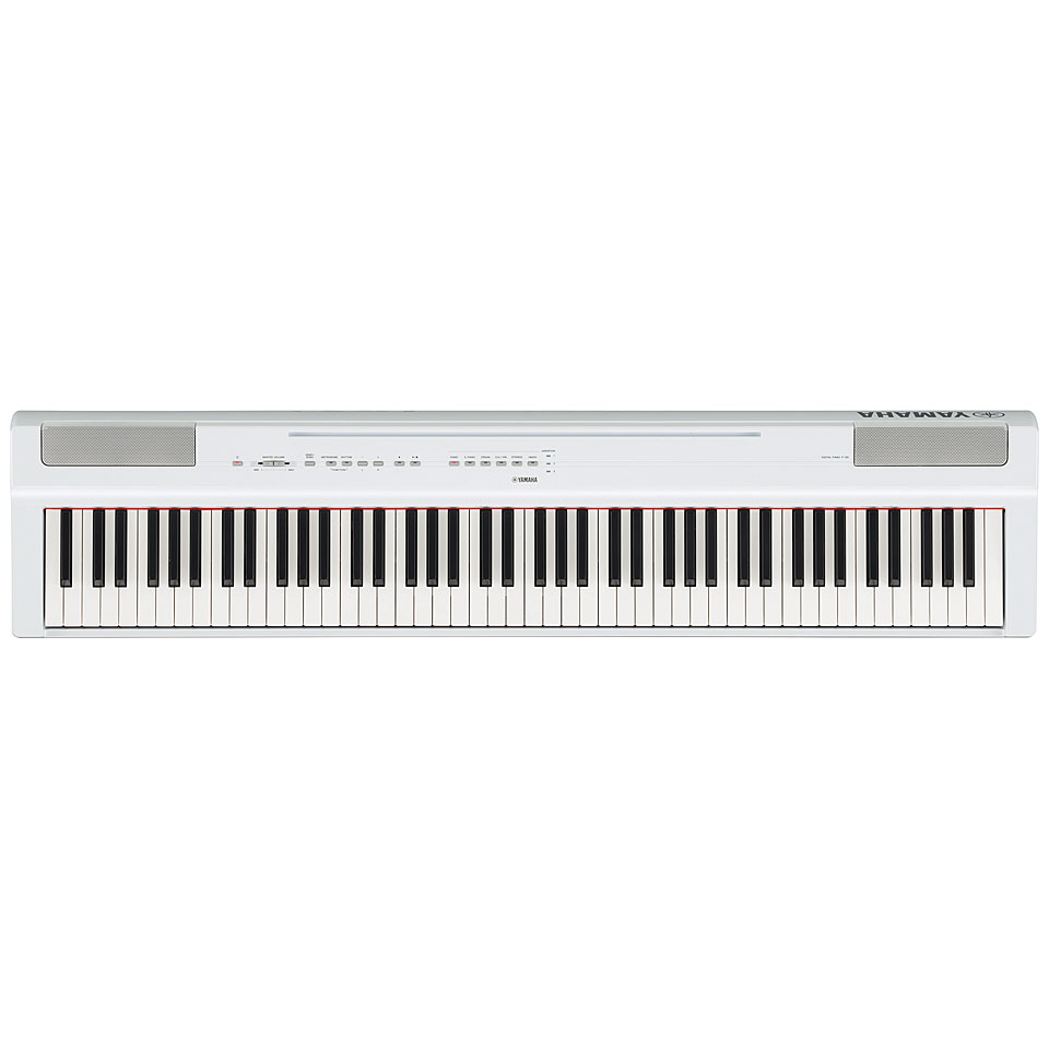 Stagepianos - Yamaha P 125WH Stagepiano - Onlineshop Musik Produktiv