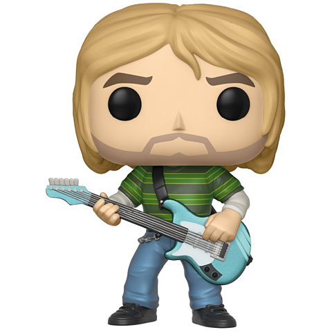 Funko POP! ROCKS: Kurt Cobain Pop Vinyl