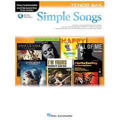 Hal Leonard Simple Songs for Tenor Sax « Play-Along
