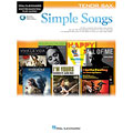 Play-Along Hal Leonard Simple Songs for Tenor Sax