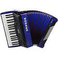 Tasten-Akkordeon Hohner Bravo III 72 Blue silent key